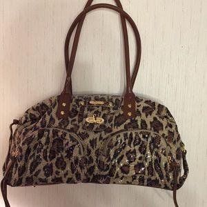 Genuine Leather Animal Print Bag